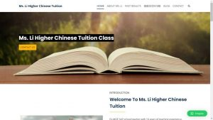 Dynamic Web Development Higher Chinese Tuition_1