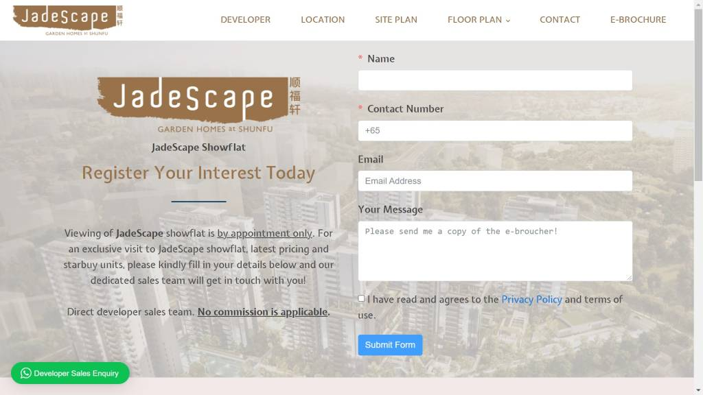 Web Development JadeScape